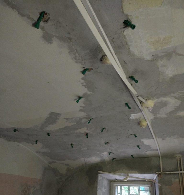 инъектирование трещин в кирпичной кладки стен и сводов