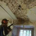 инъектирование трещин в кирпичной кладки стен и сводов.