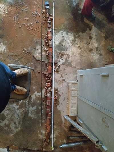 цементации грунта под фундаментом
