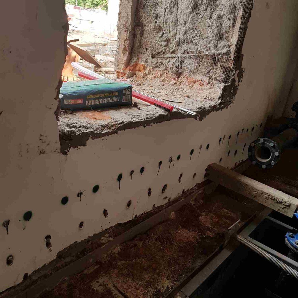Отсечная гидроизоляция стен