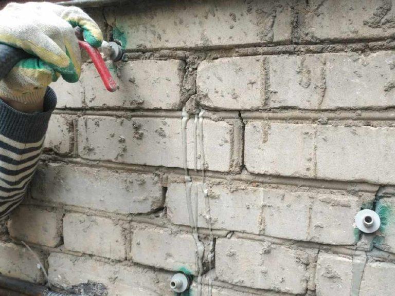 Инъецирования трещин