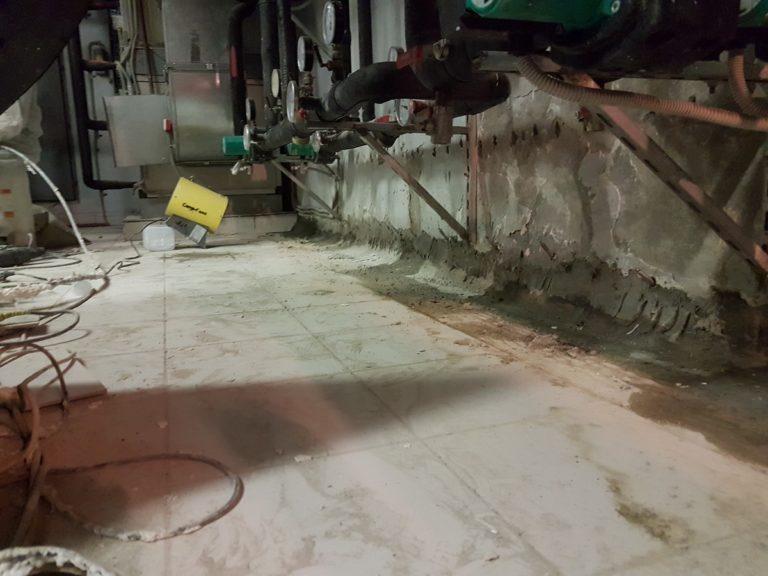 установка пакеров в бетон