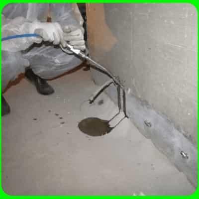Инъектирования бетона